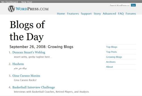 #4 Blog of the Day
